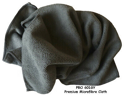 Microfibres Cloths 40x40cm Grey Pack of 10